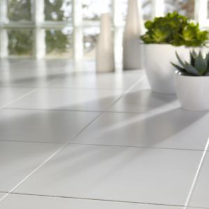 Ceramic Tile Floor Finish