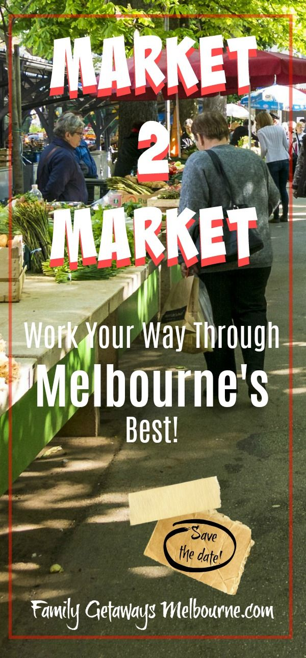 There are so many exciting markets in and around Melbourne, Australia. #Craftmarkets, #Farmersmarkets and #trashandtreasuremarkets, so much to explore every single weekend in the month. Some markets are held during the week as well. Click the image, here, for more information.