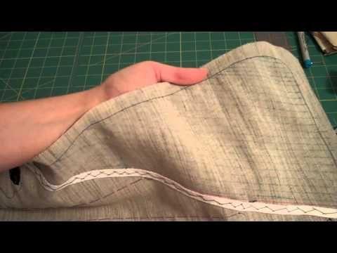 TUTORIAL! Pad Stitching a Lapel