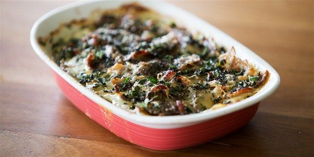 Try this Desiree Potatoes, Coppa and Rosemary Gratin recipe by Chef Paul West . This recipe is from the show River Cottage Australia.