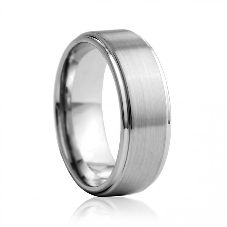 Tungsten mens wedding ring | Diamond Corporation South Africa