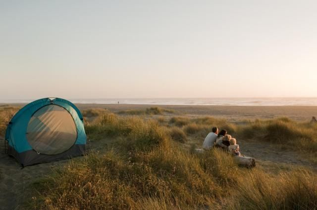 6 Great Northern California Spots Where You Can Camp Right on the Beach: Camping at Gold Bluffs Beach 10 year anniversary trip