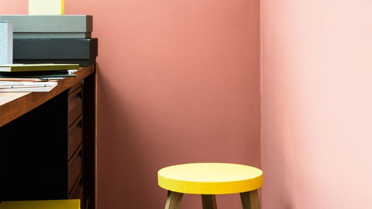 Looking for a workspace that inspires you?  Think orange copper, a bright color known to boost creativity.