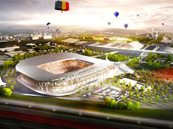 Eurostadium Brussel by KCAP and Arup