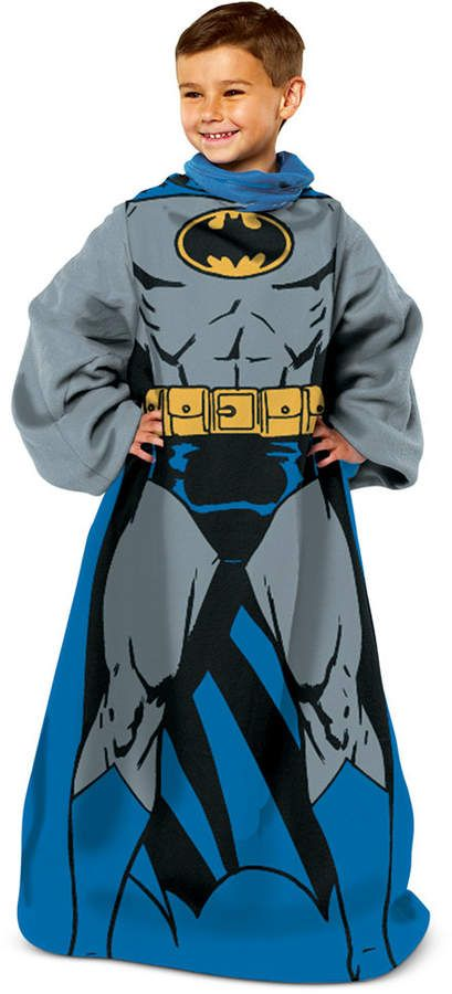 Warner Brothers Kids' Being Batman Comfy Throw