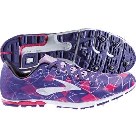 Brooks Women's Mach 16 Spike Track and Field Shoe - Purple/Pink | DICK'S Sporting Goods