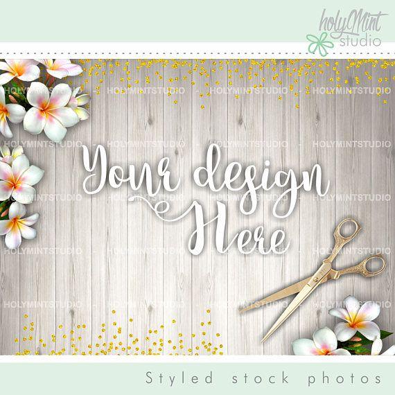 Styled Photo - Flower Background - Mock Up by www.HolyMintStudio.Etsy.com