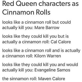 Red Queen characters Love this! XD