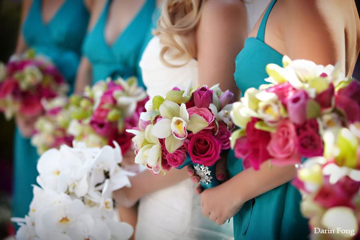 Turquoise Fuchsia Wedding: 65 Best Images About Fuchsia/Hot Pink Wedding Ideas On