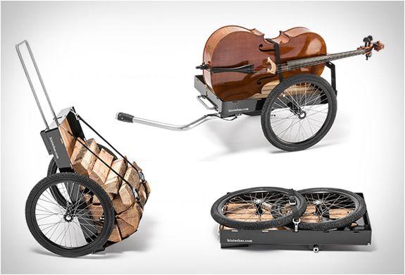 TRAILERS DE CARGA PARA BICICLETAS  Hinterher é uma marca alemã com sede em Munique, que é especializada em reboques da bicicleta versáteis (bike trailers).  Veja mais detalhes: http://www.filtromag.com.br/trailers-de-carga-para-bicicletas/