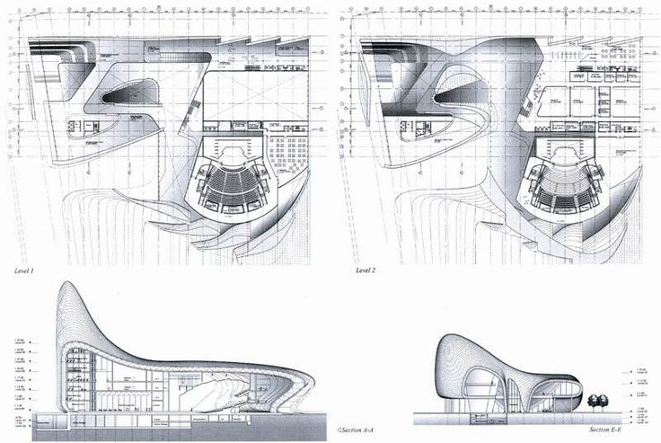 Zaha hadid architects heydar aliyev merkezi for Architecture parametrique