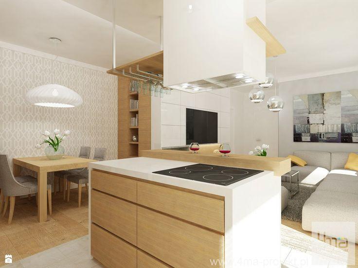 Salon styl Eklektyczny - zdjęcie od 4ma projekt - Salon - Styl Eklektyczny - 4ma projekt