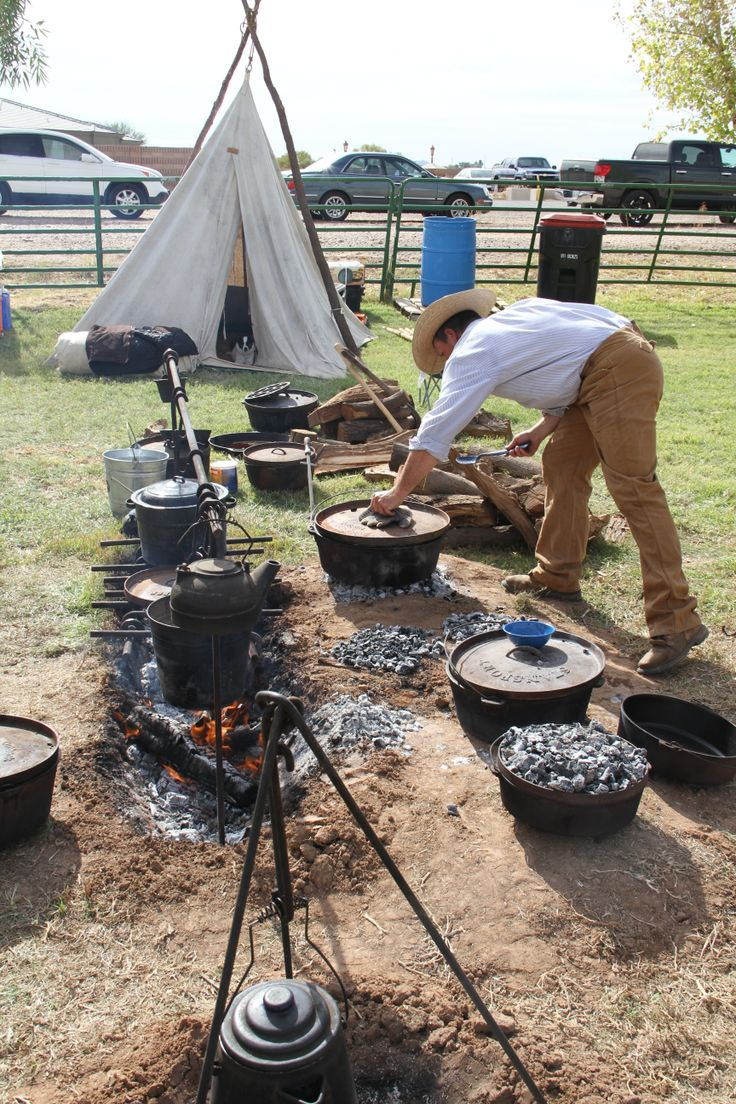 The annual Chuck Wagon Cook-Off at Tumbleweed Park in #Chandler. #VisitChandler