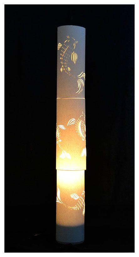 Paper Koi Lamp by Nedo Delport.