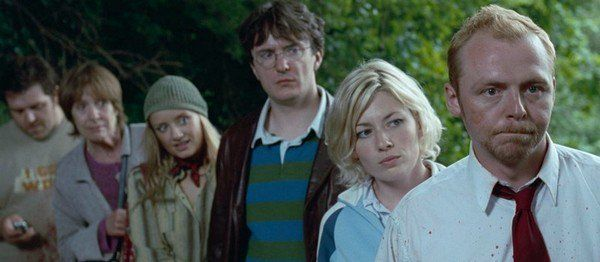 "#Anglais ""Shaun of the Dead"" -12 2004 d'Edgar Wright avec Simon Pegg, Kate Ashfield, Nick Frost sur @SyfyTV"