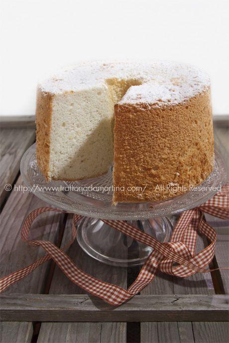Angel food cake di Montersino: come ti riciclo gli albumi - Trattoria da Martina - cucina tradizionale, regionale ed etnica