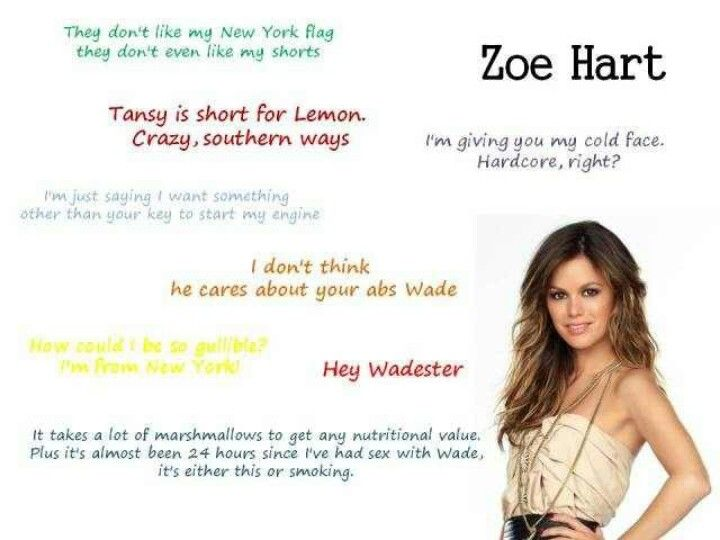 hart of dixie zoe and george relationship quotes