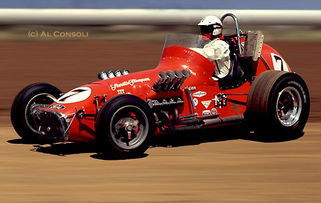 Monogram hot shot midget racer-8299