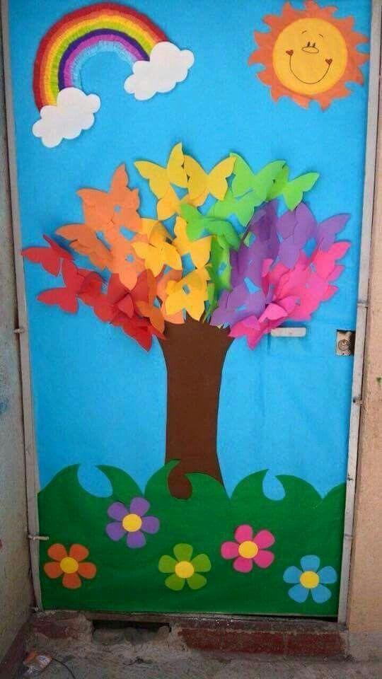 Sınıf Kapı Süsleme Örnekleri 57 - Mimuu.com