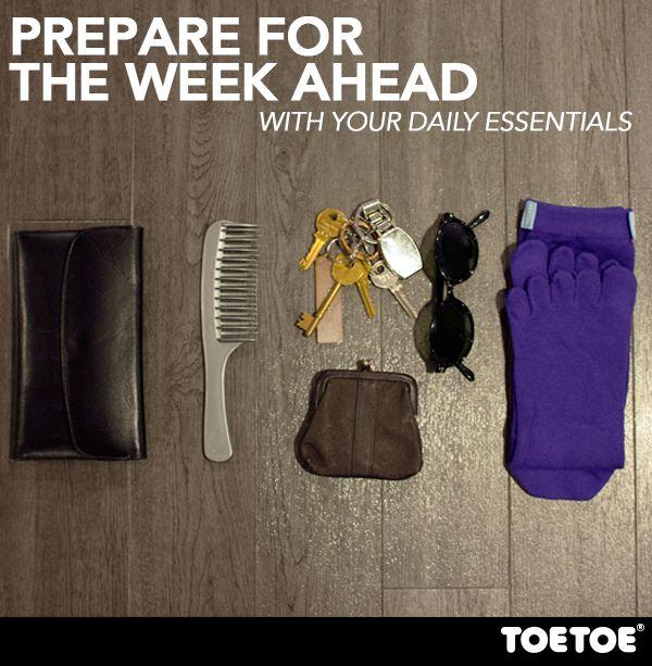 Have a great week!  #TOETOE #TOETOESocks #ToeSocks #Happysocks #Essentials
