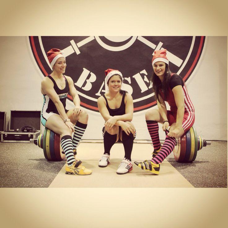 Santa Claus Weightlifting Cup in 2014 #olympicweightlifting #liftingislife #olympiclifting #girls #Budspest #FlexGym #FlexBase #crossfitgirls #liftheavy