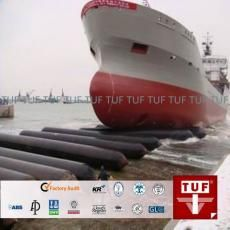 Marine airbag also known as rubber airbag, ship launching airbag, ship salvage airbag, inflatable airbag,   ship lifting bag, air balloon, made by rubber & multi layer of rubber-dipped tyre fabric.   Airbags are widely used in launching and landing ship/ boat/vessel, lifting and moving heavy goods, salvaging stranded boats.    http://www.tufinc.com/goods-2652-Marine-Airbag-Use-For-Salvage-Pontoon-Boat.html