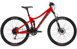Norco Fluid 6.3 Trail XC mountain bike for the smaller or younger rider at bike attack red