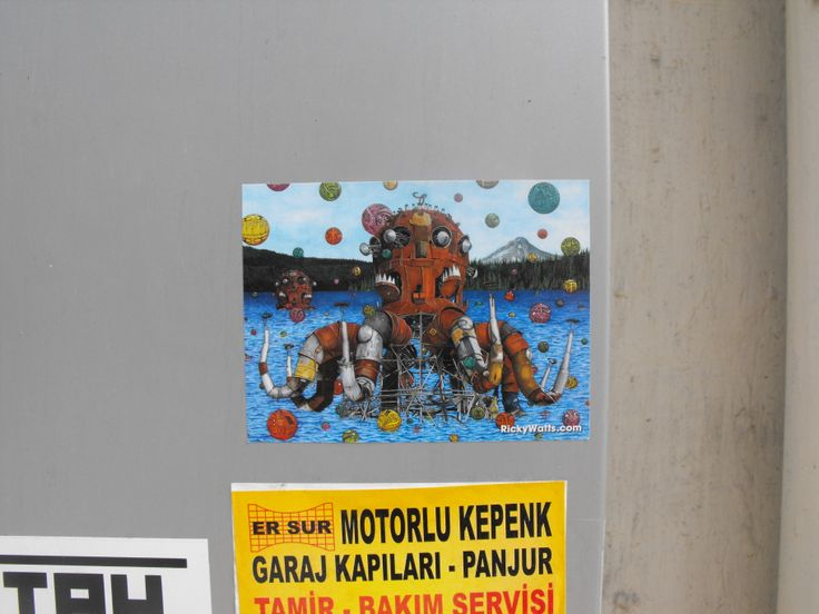 Octopus - Taksim / rickywatts.com