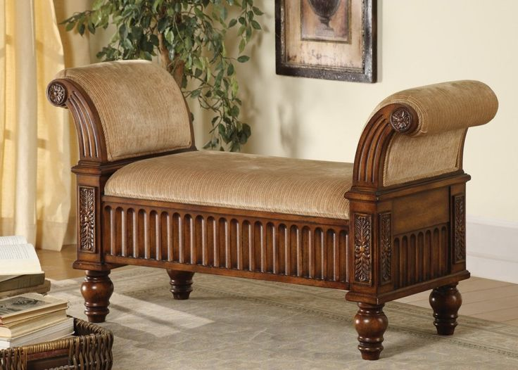 Ancient Varnished Mahogany Wood Framed Backless Sofa As Well As Custom Couches  And Great Couches, Sensational Backless Couch Design Ideas: Furniture, Living Room