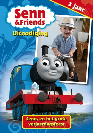 Uitnodiging Thomas de trein