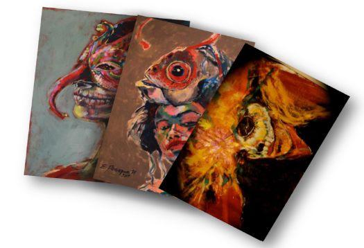 viernes 17 de junio 2016 Expo Pinturas de la artista Costarricense, Evelyn Paniagua
