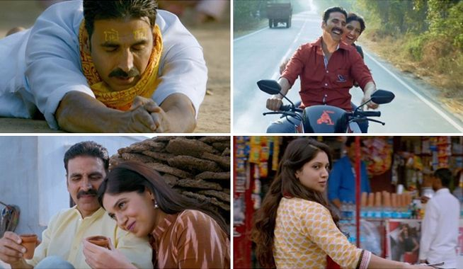 After the release of the first song, the makers of Toilet: Ek Prem Katha released yet another song 'Bakheda' from the movie. Akshay Kumar, who is playing