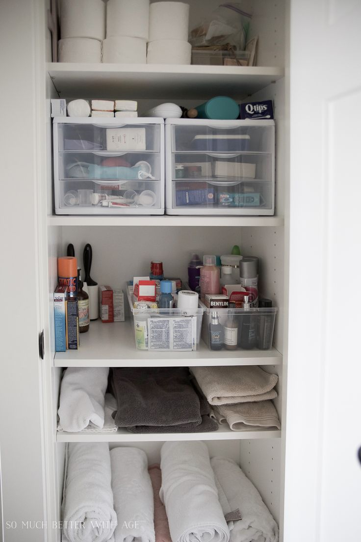 Closet Organization Ideas with the Home Decluttering Diet.