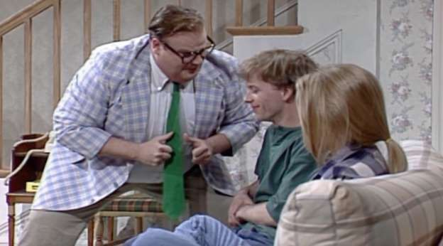 The late Chris Farley's finest hour, as he introduced the world to Matt Foley, a motivational speake... - Provided by Best Life