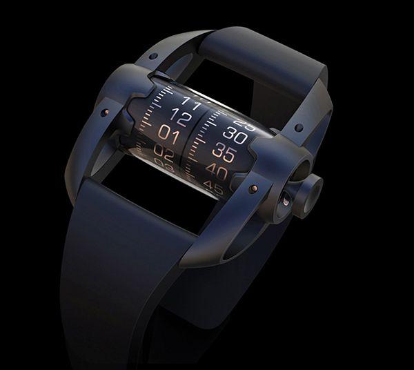 Imaginé par Vladimer Kobakhidze, ce concept de montre nommée Time Capsule offre une vision originale et différente des montres actuellement disponibles sur le marché.