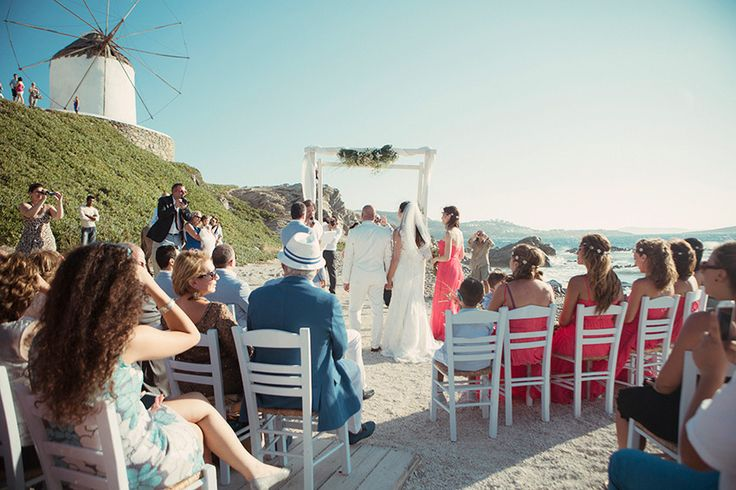 Dream your Wedding in Mykonos  www.mykonos-weddings.com Wedding Ceremony - Exchange of Vows