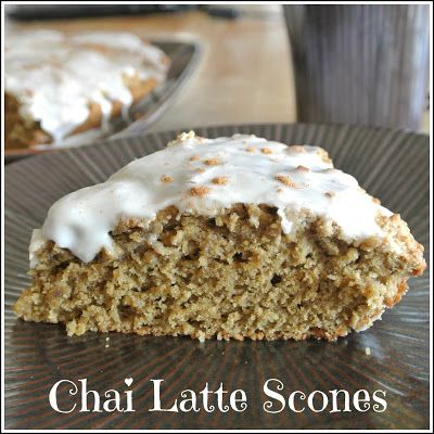 Mom, What's For Dinner?: Chai Latte Scones-  GF, with tweaking could be dairy free also