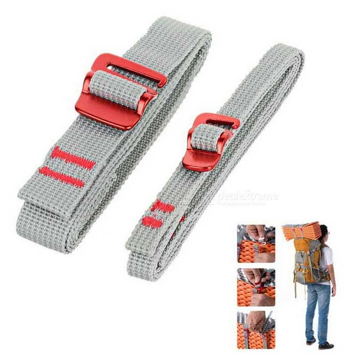 NatureHike Belt Strap w / Quick Release Buckle - Grey (1.5m / 2 PCS)
