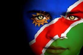 Namibia Flag Boy Capital: Windhoek