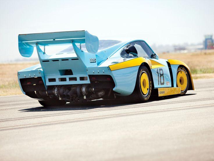 Porsche 935 Turbo JLP IMSA Race Car