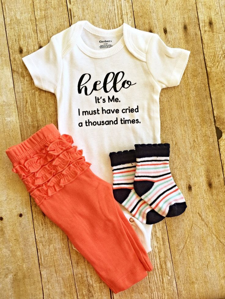 Hello. Its Me. I must have cried a thousand times Baby Onesie // adele body suit  // Baby Onesie // Funny Baby shirt // Funny Baby Onesie by EmieLouBoutique on Etsy