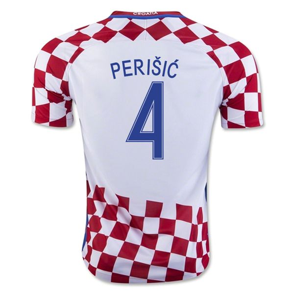 6bf0b7874 Ivan Perisic 4 2018 Fifa World Cup Croatia Home Soccer Jersey