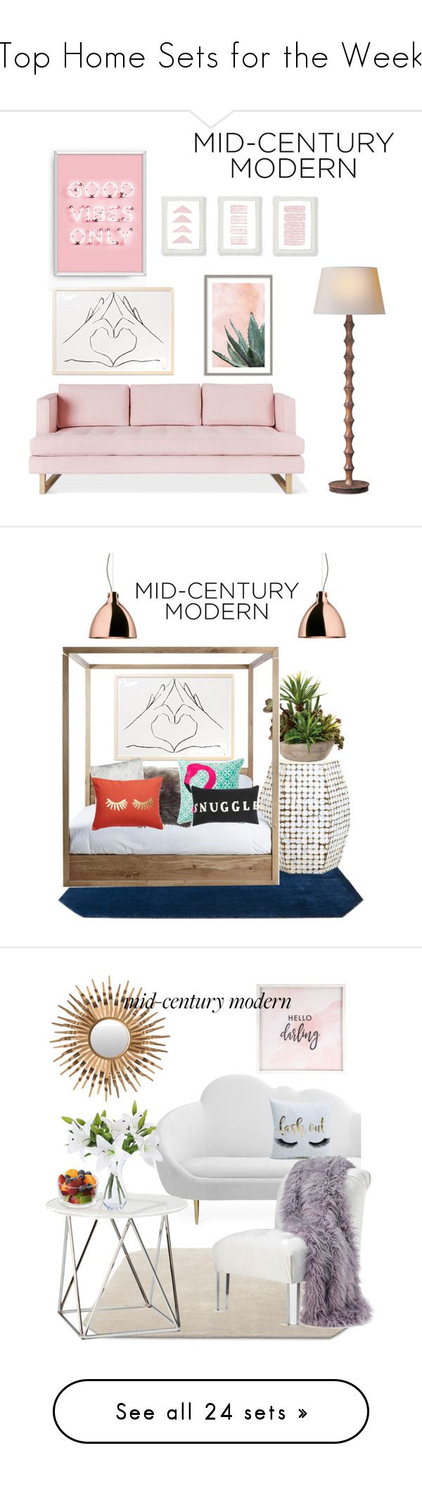 """""""Top Home Sets for the Week"""" by polyvore ❤ liked on Polyvore featuring interior, interiors, interior design, home, home decor, interior decorating, Gus* Modern, Art Addiction, modern and &Tradition"""