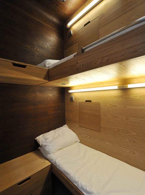 Sleepbox: Mod Architecture, Favorite Places, Public Places, Bunk Beds, Arches, Sleepbox 01, Design Espac, Architecture Design, Hotels Rooms