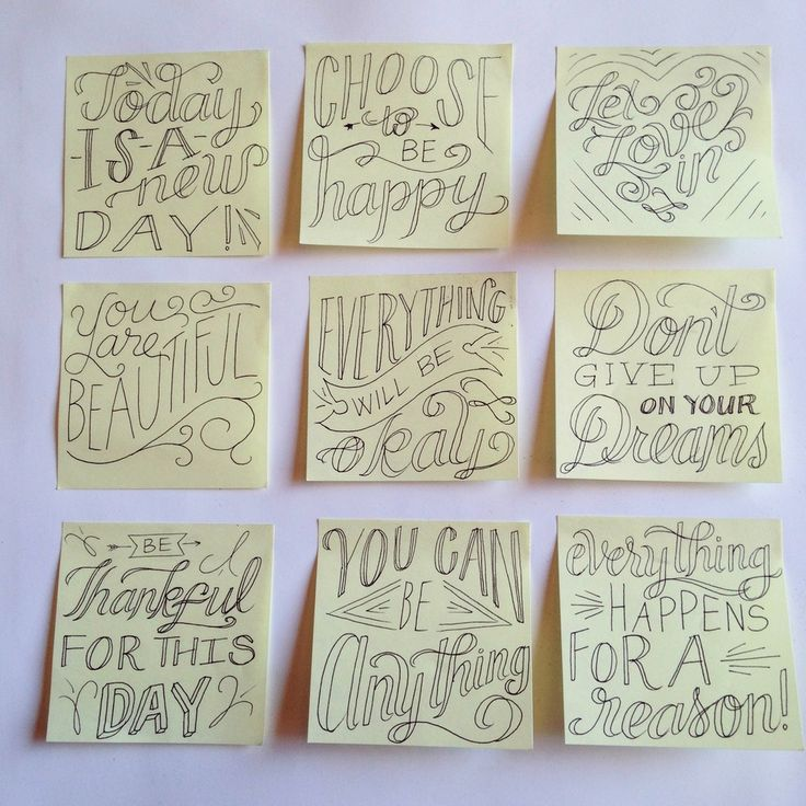 Spreading Inspiration Post-it Project by Roxy Prima