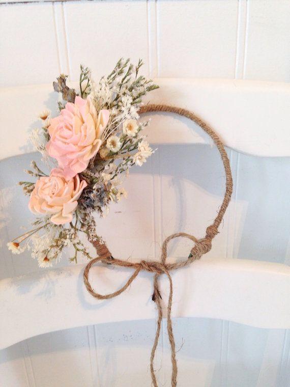 Bridal flower crown - flower girl headband - flower crown - headwreath