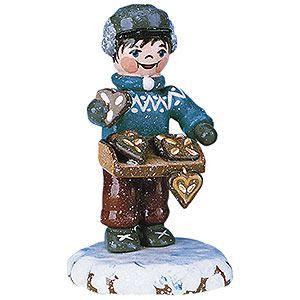 Winterkinder Leckere Lebkuchen (6,5cm) von Hubrig Volkskunst