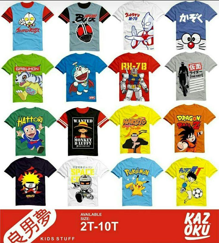 Sold out Kazoku boy kartun japan 2-10T Untuk melihat yang baru bisa cek via WA 081210904247