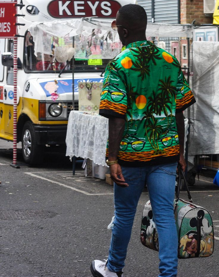 Food meets Fashion: On Portobello Road Market - Notting Hill