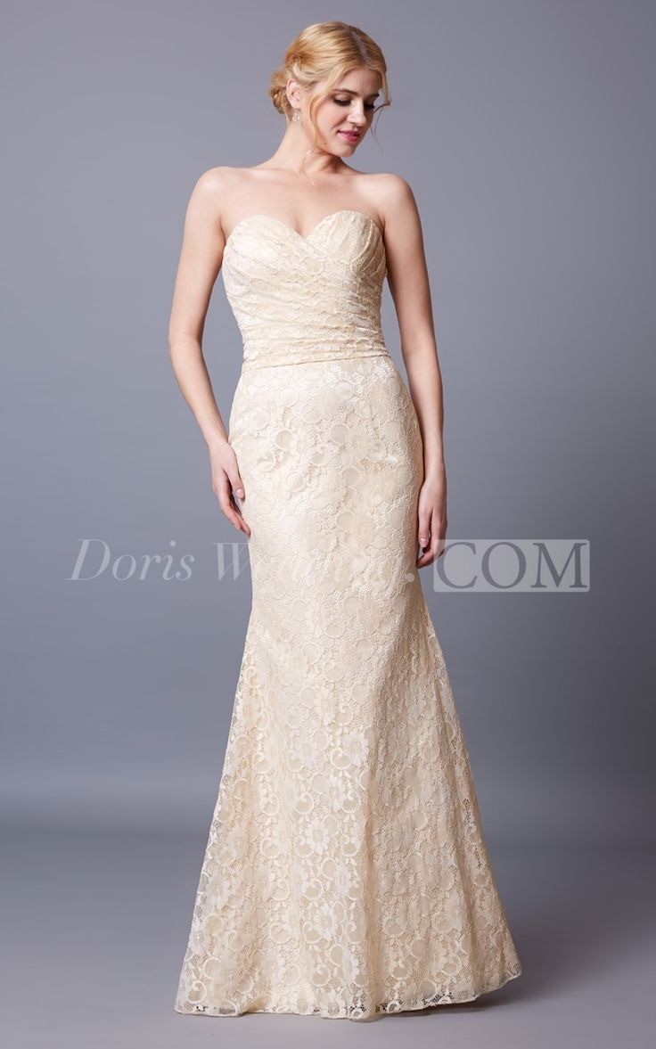 Elegant Sleeveless Sweetheart Lace Bridesmaid Dress With Backless  Style #lace #long #bridesmaid #dresses #2016 Find your dream bridesmaid dresses on www.doriswedding.com. Sort by color, designer, fabric and more and discover the bridesmaid dress you love. #DorisWedding.com